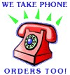 You can also place your order by telephone! Simply call us at either 610-905-1679.