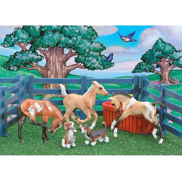 Stablemates Puppies and Foals Play Set